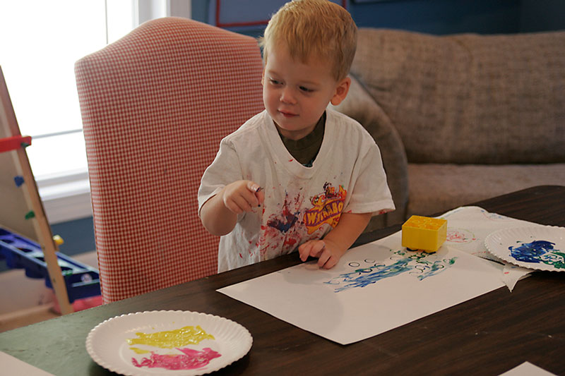 How to Homeschool Preschool and Love It Art