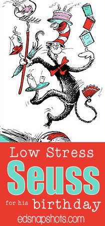 Low-Stress Dr. Seuss Birthday Activities