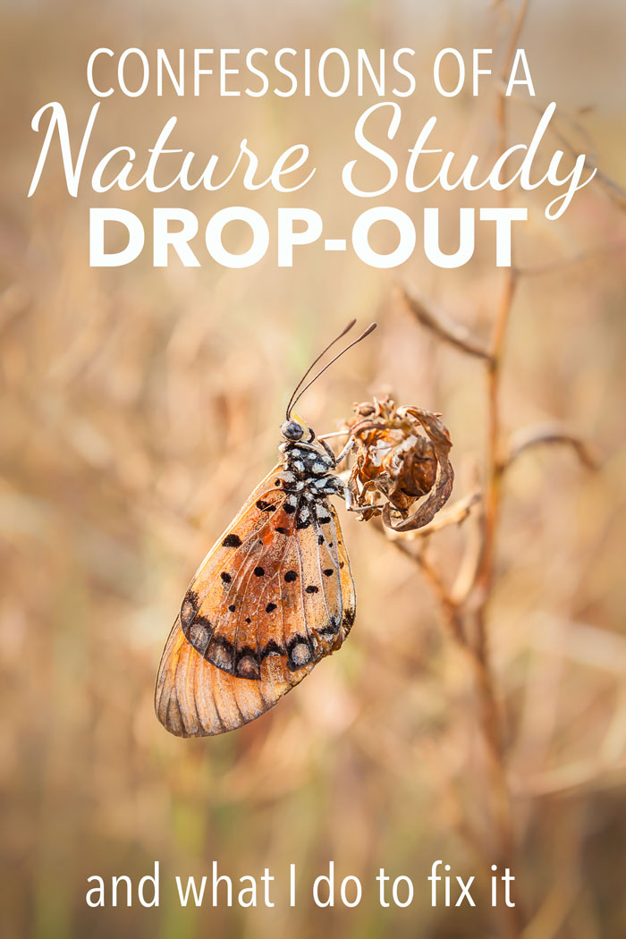 Confessions of a Nature Study Drop-Out