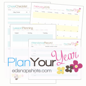 Plan Your Year Homeschool Planner