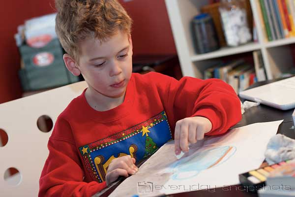 Five Things Every New Homeschool Mom MUST Know Drawing