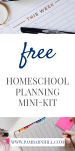 FREE Homeschool Planning Mini-Kit Pam Barnhill Homeschool Solutions