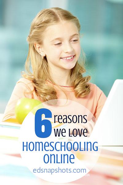 Six Reasons We Love Homeschooling Online