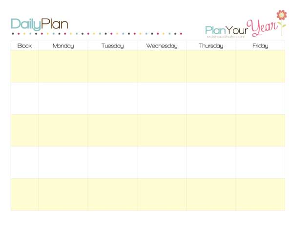 To Plan A Week With A Sample Homeschool Schedule
