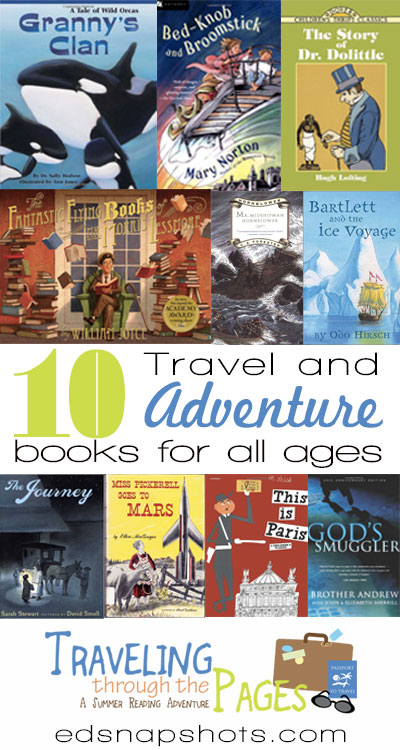 Ten Books Full of Travel and Adventure