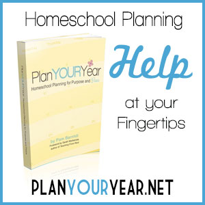 Plan Your Year homeschool