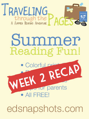 Traveling Through the Pages Week 2 Recap