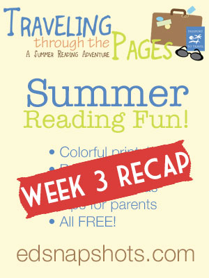Summer Reading Recap Week 3