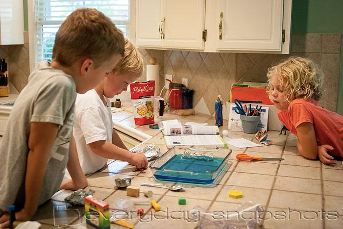 Homeschool Planning Schedule Science Experiment