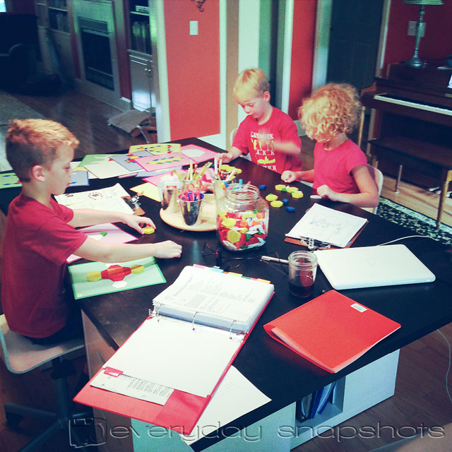 Homeschool Planning Schedule Morning Time Kids