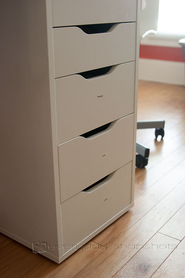 Five Homeschool Hacks Kids' Drawers