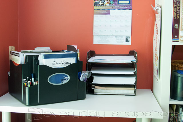 Five Homeschool Room Hacks Paper Storage