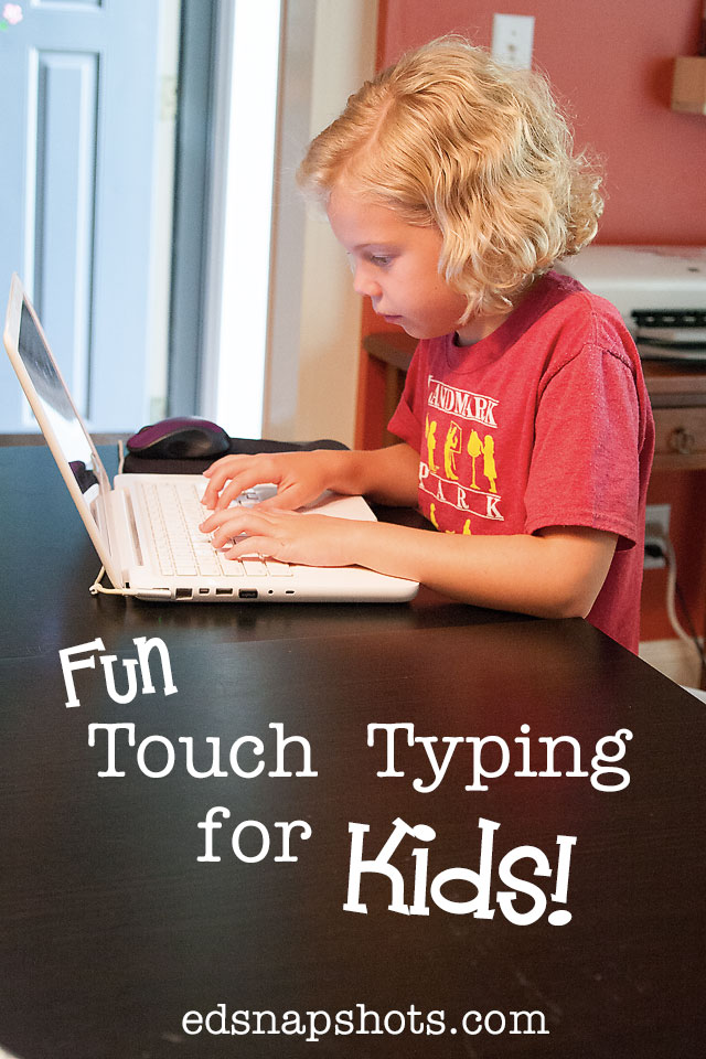Touch Typing Course for Kids - Type Kids