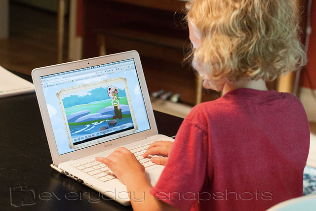 Fun with a Touch Typing Course for Kids Pirate