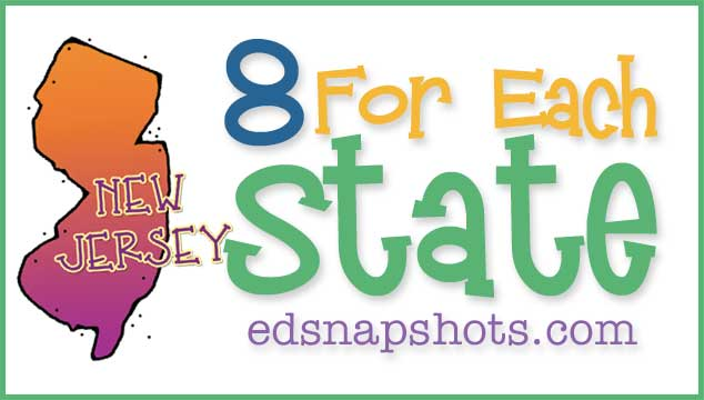 Eight For Each State – New Jersey