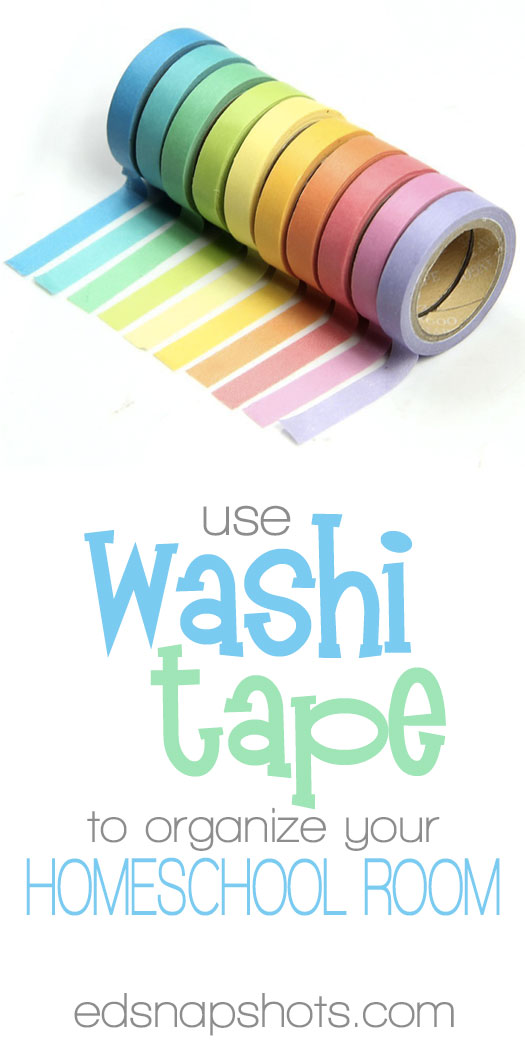 How to use washi tape in the homeschool room for What is washi tape and how do you use it