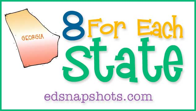 Eight For Each State Us Geography: Georgia