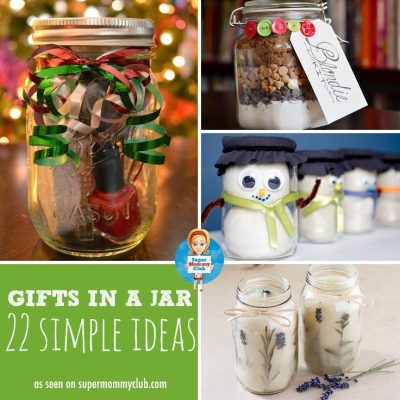 Ten More DIY Christmas Gifts Kids Can Make Jar