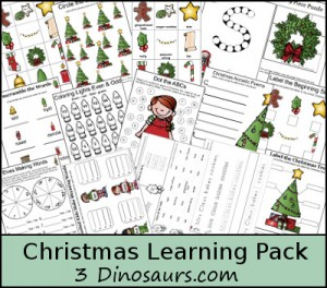Christmas Unit Studies and Printables Learning Pack