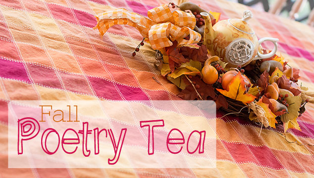 Host a Fall Poetry Tea