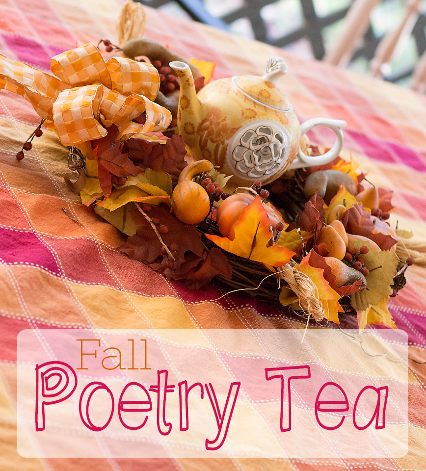 Fall Poetry Tea Party
