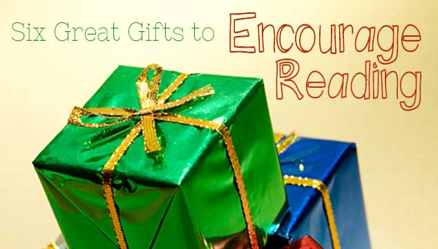 Gifts to encourage kids to read
