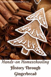 Christmas Unit Studies Gingerbread Study