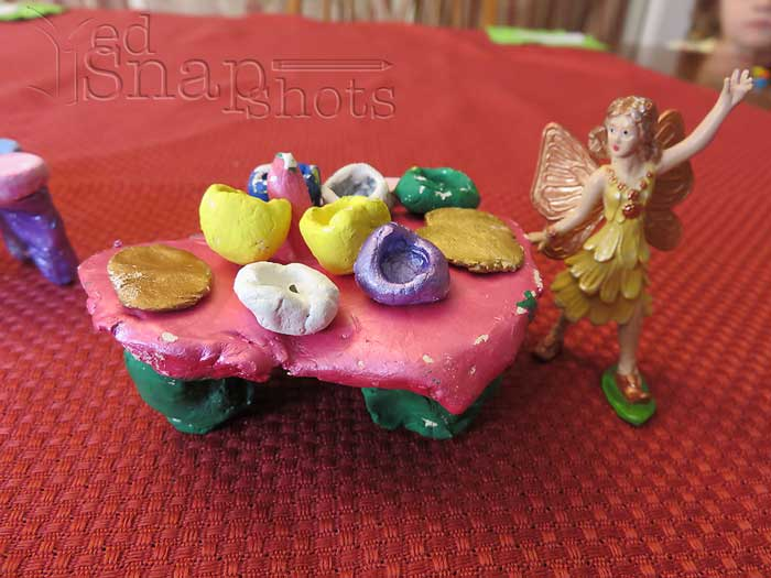 US Geography South Carolina Edgefield Pottery Inspired Fairy Furniture