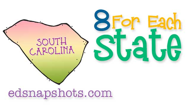 Eight for Each State – South Carolina
