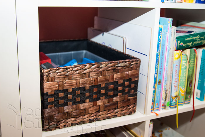 Six Tools for Organizing Your Homeschool Room Basket