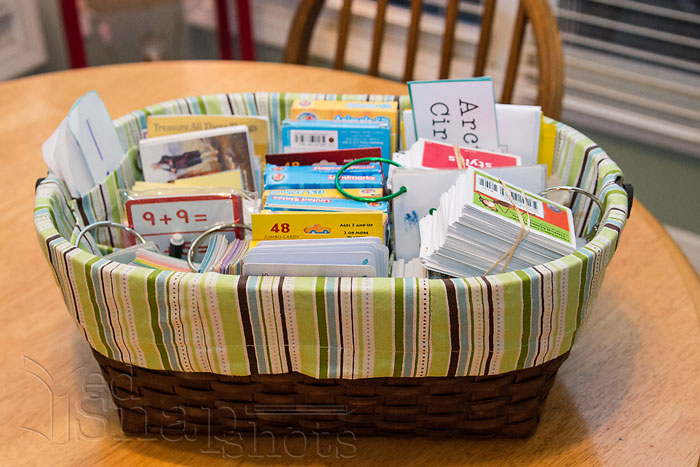 Six Tools for Organizing Your Homeschool Room Diaper Basket