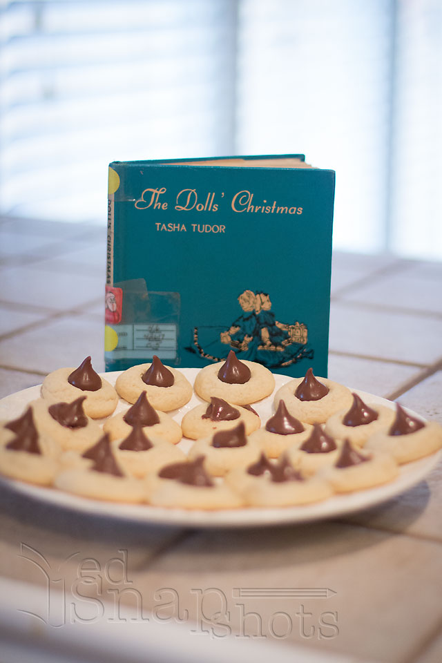 Christmas Picture Book Cookie Exchange Doll