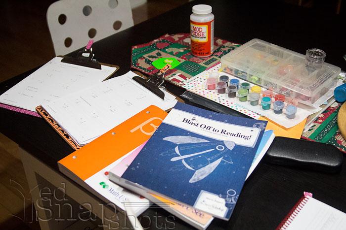 Homeschool Morning Routine Prep