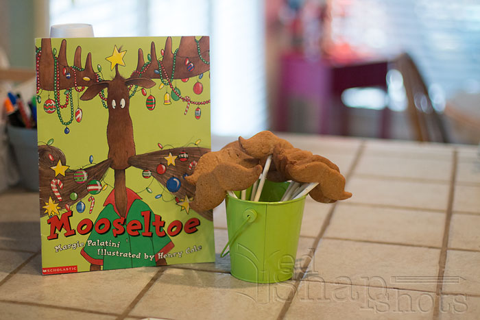 Christmas Picture Book Cookie Exchange Moosletoe