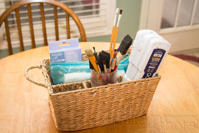 Six Tools for Organizing Your Homeschool Room Utensil Caddy