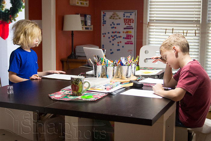 Homeschool Morning Routine Success!