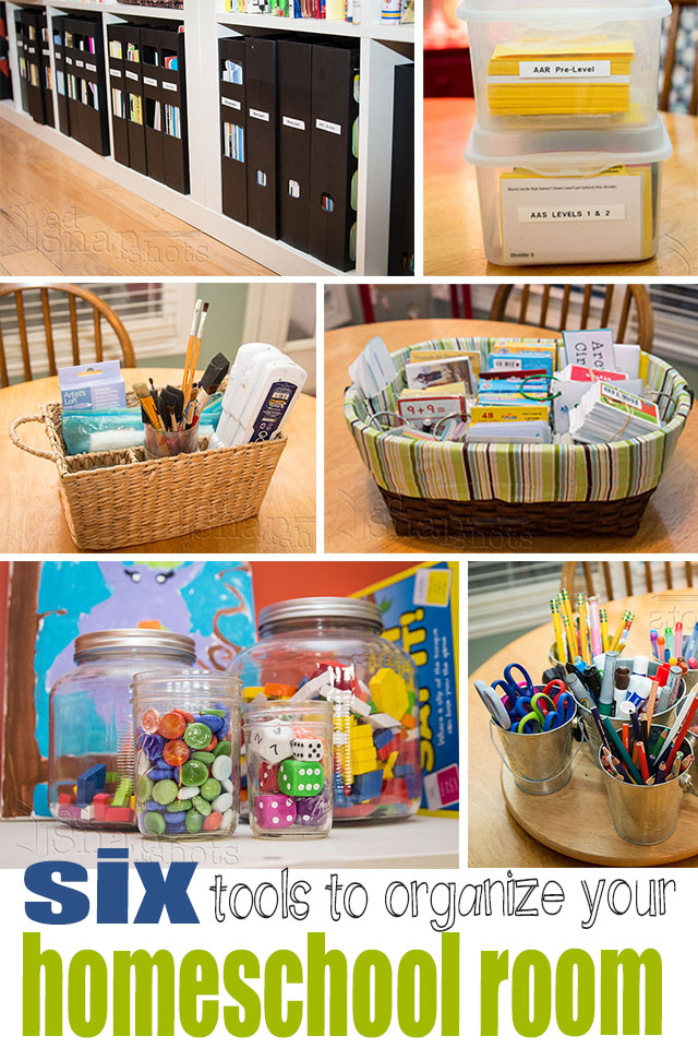 Six Tools to Organize Your Homeschool Room
