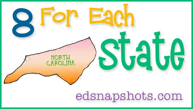 US Geography North Carolina Feature