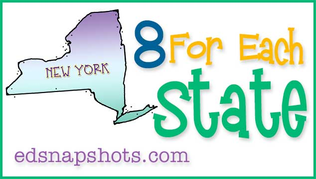 Eight For Each State – New York