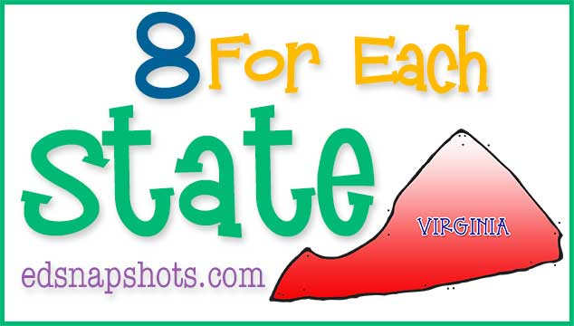 Eight For Each State – Virginia
