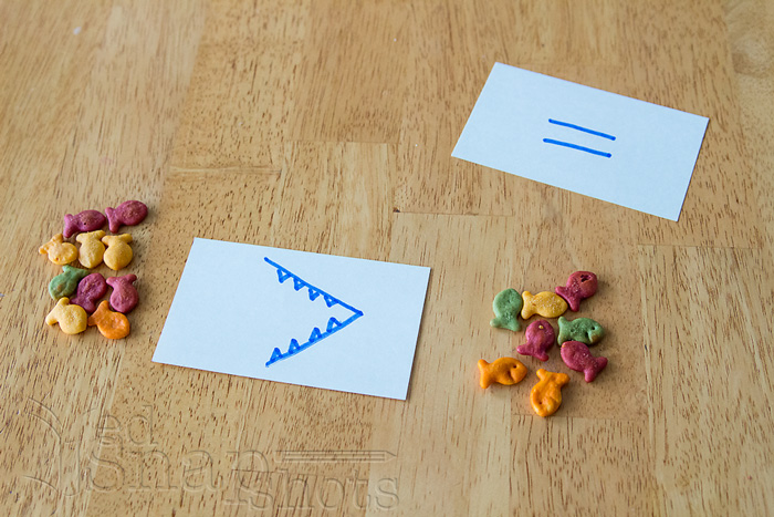 8 Fun Munchy Math Activities Greater