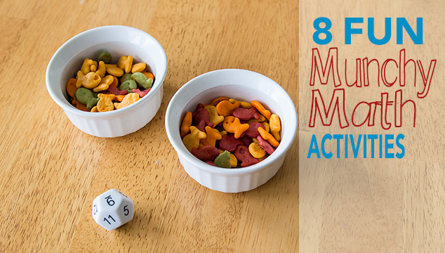 Eight Fun Munchy Math Activities