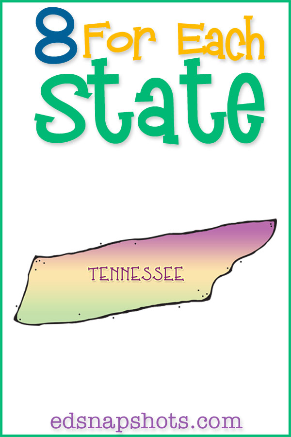 US Geography Tennessee