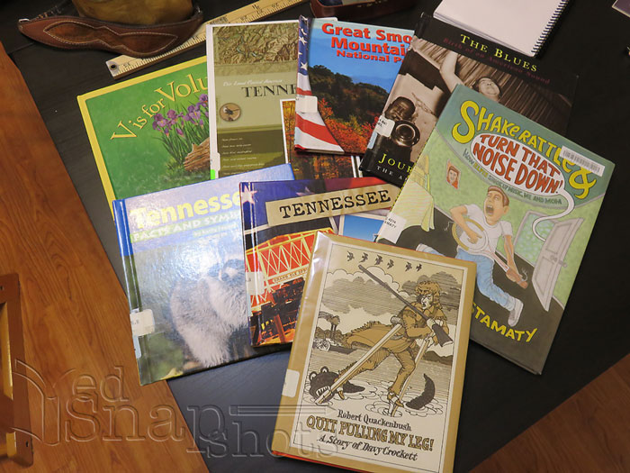 US Geography Tennessee Books