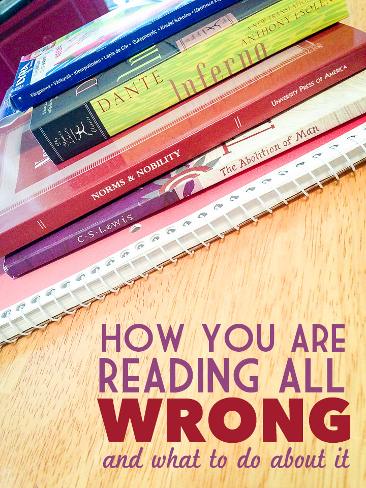 How You Are Reading All Wrong and What To Do About It
