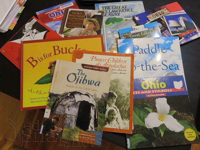 US Geography Ohio Books