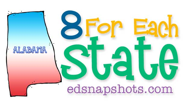 Eight for Each State – Alabama
