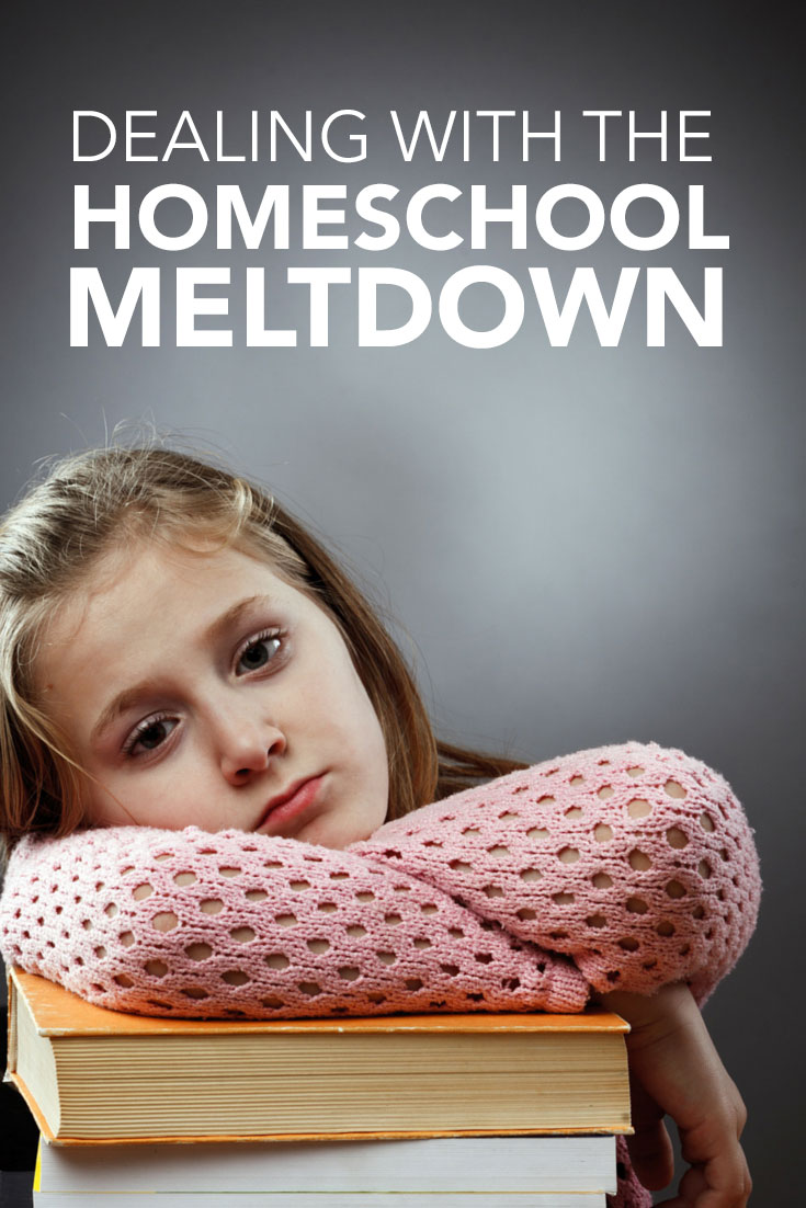 Dealing Wiht the Homeschool Meltdown
