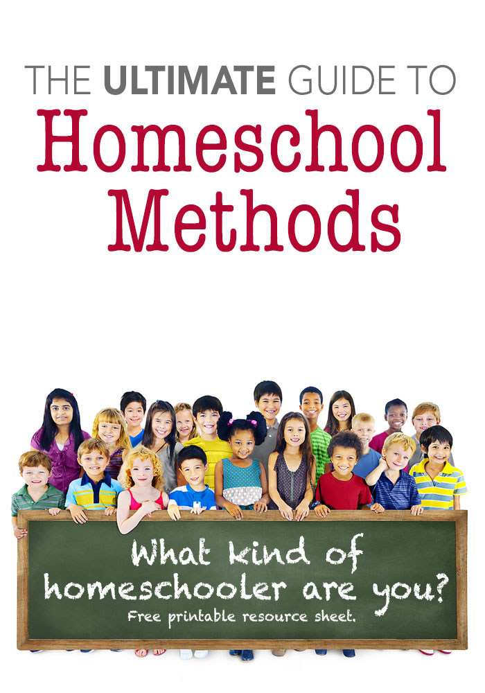 The Ultimate Guide to Homeschool Methods Pam Barnhill Homeschool Solutions