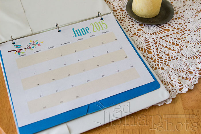 Get Organized for Summer with Kids Calendar